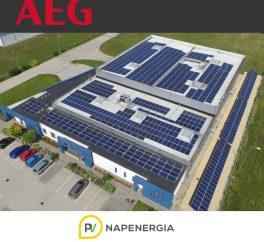 AEG ipari napelemes rendszerek pályázati forrásból